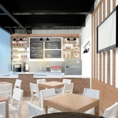 Café Mostachio II