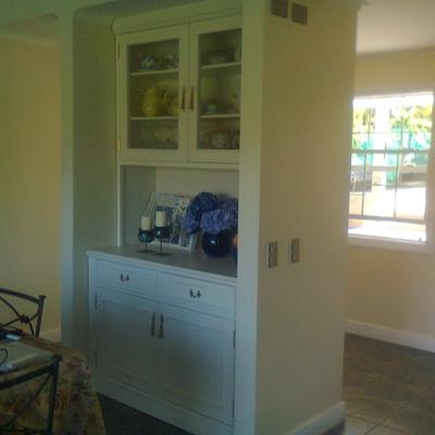 Mueble aparador blanco