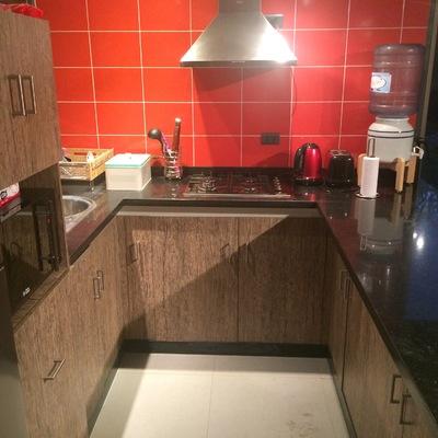 Muebles y cubierta de cocina