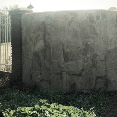 Muro Exterior en casa en Chicureo