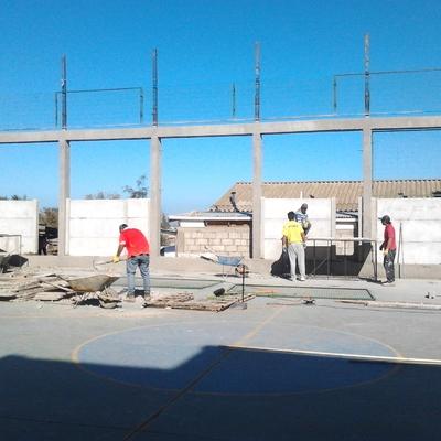 Muros Colegio
