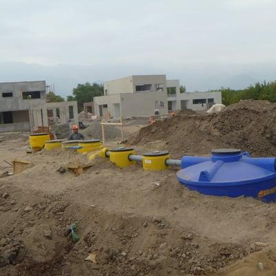 Instalacion Planta Tratamiento Aguas Servidas