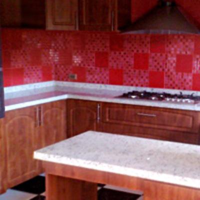 cocina estancia cubierta granito