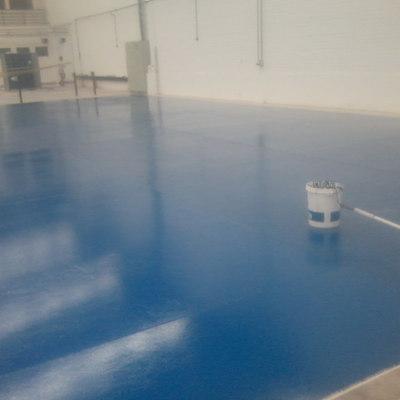 pintura piso epoxico