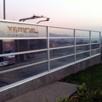 Panel vidriado