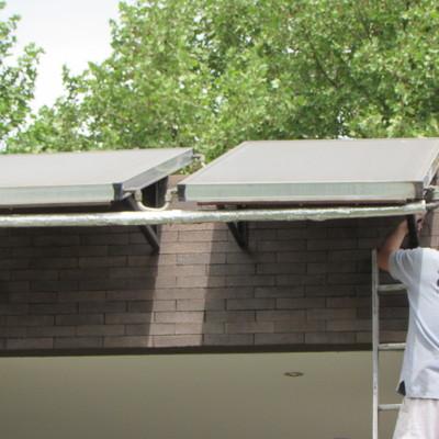 Paneles solares para agua sanitaria