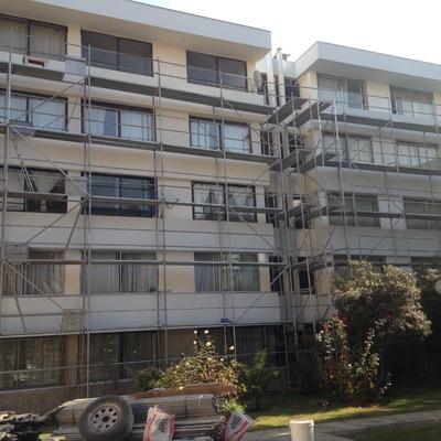Pinturas Edificio Pedro Torres, Ñuñoa