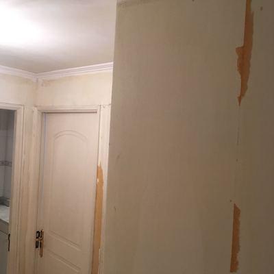 Pintura interior antes