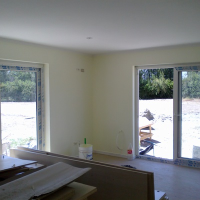 Pintura Interior Casa Prieto