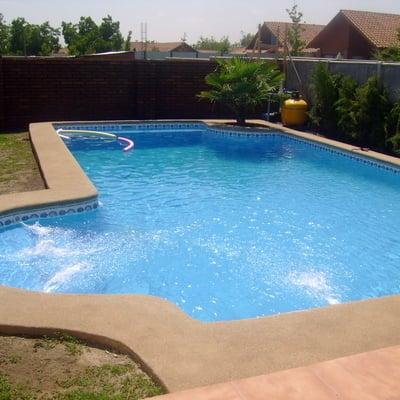 Construcci n de piscina modelo romana y quincho 6 x 3 mts for Costos de piscinas