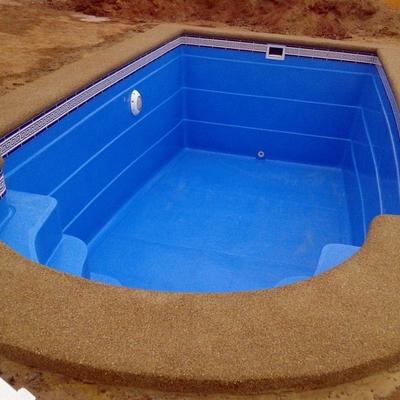 Fulget granito lavado villa alemana - Precio construccion piscina 6x3 ...
