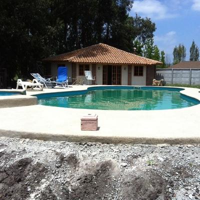 Construcci n de piscinas en todo chile los ngeles - Piscina san vicente ...