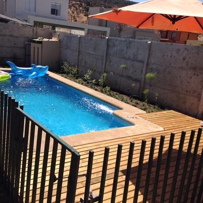 piscina en ecourbe santa elena