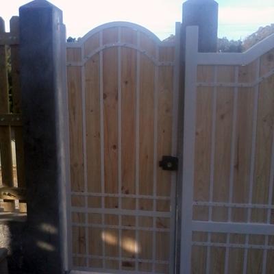 portones puerta medio punto