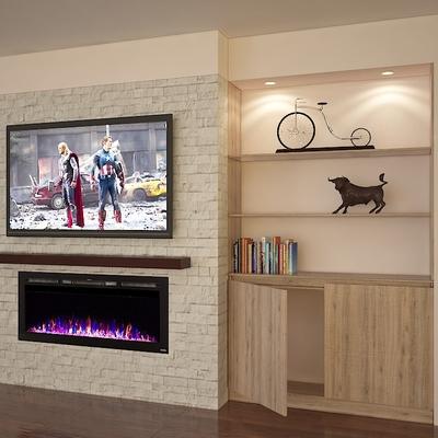 Diseño TV Chimenea Alejandro M