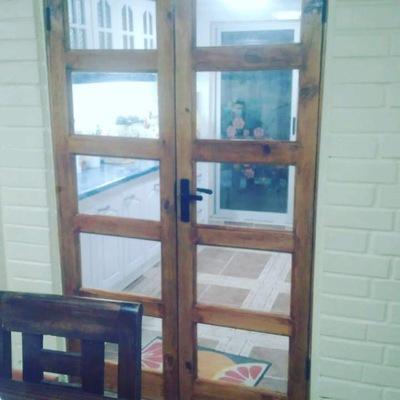 Puerta para separar ambiente Parte II