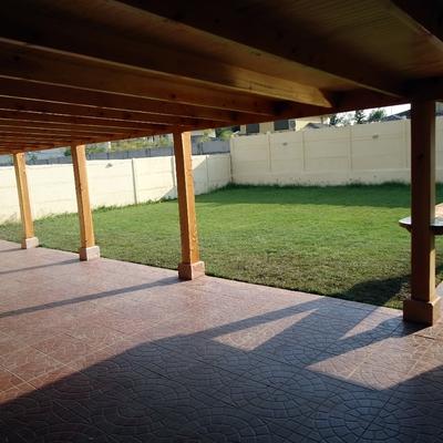 quincho y terraza huechuraba