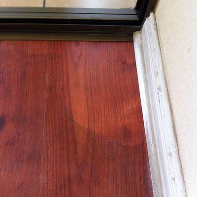 Recuperación y limpieza piso flotante