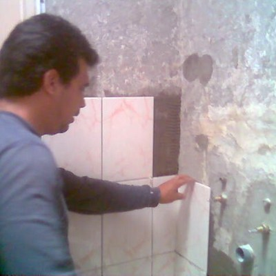 remodelando baño