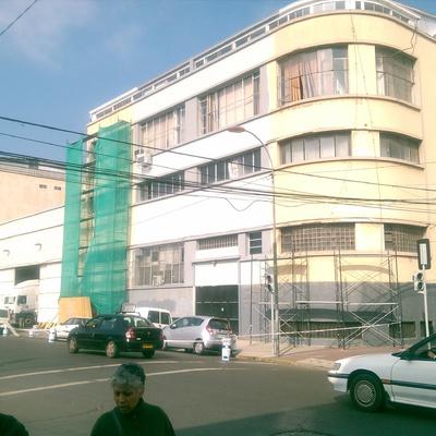 Remodelacion y Pintado Fachadas Edificio Corpora Valpso.