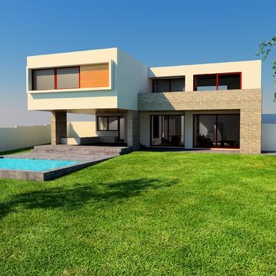 Proyecto Casa BL Piedra Roja - Chicureo.