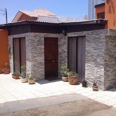 Reparacion de casa dañada por el terremoto