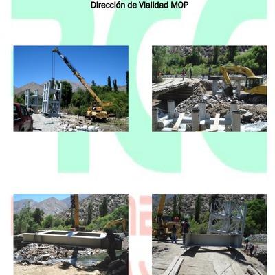 Fabricación y montaje Puente La Cisterna