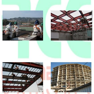 Fabricación y montaje estructura edificio Enjoy Coquimbo