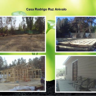 Casa madera pirque