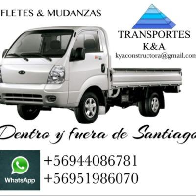 Servicios de transporte dentro y fuera de Santiago