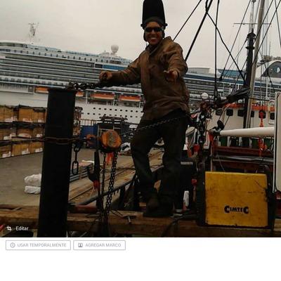 relleno de soldadura en barco el copernico