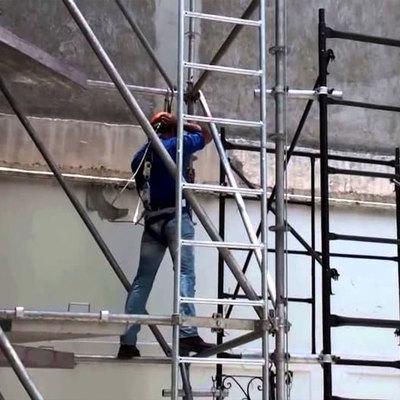 reparación y preparación pintura exterior de edificio