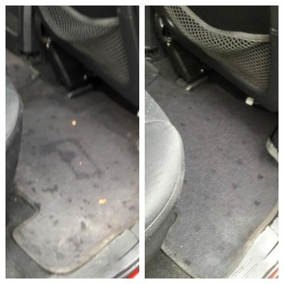 Limpieza interior de auto