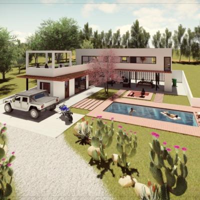 Anteproyecto Casa comuna de San Pedro 1