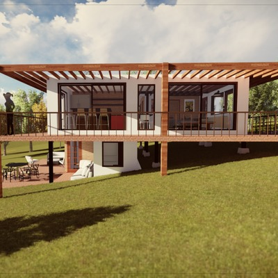 Anteproyecto Casa comuna de San Pedro 2