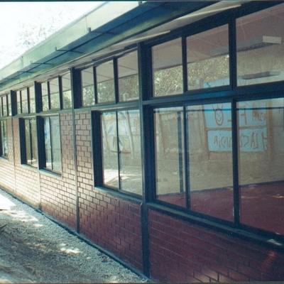 Pabellón de salas de clases Universidad Central, La Reina. Santiago.
