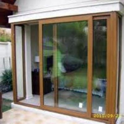 ventanas de piso a  cielo folio madera