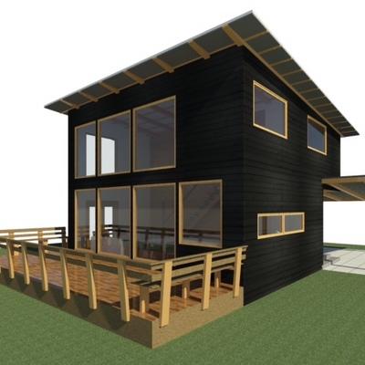 Proyecto en construcción Vista terraza