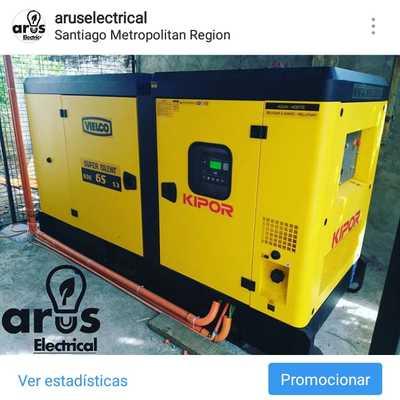 Instalacion de Generador Electrico