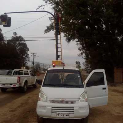 retiro de semaforo