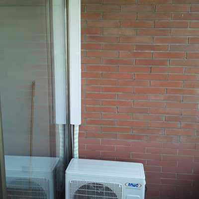 Compresor split muro 9.000 btu on/off