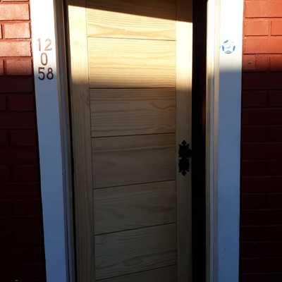 Cambio puerta principal