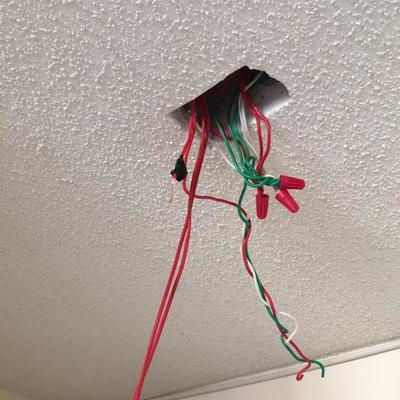 Instalación iluminación e interruptores