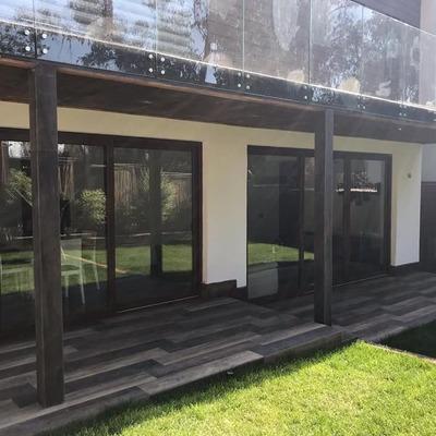 Balcón con cierre vidriado
