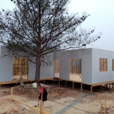 Construcción casa de veraneo