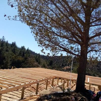 Iniciando la construcción de casa