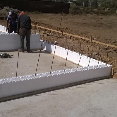 Sistema eifs casa p12 ensenada, Los Vilos