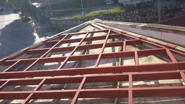 Foto Base De Estructura Metalica Para Terraza De Alex