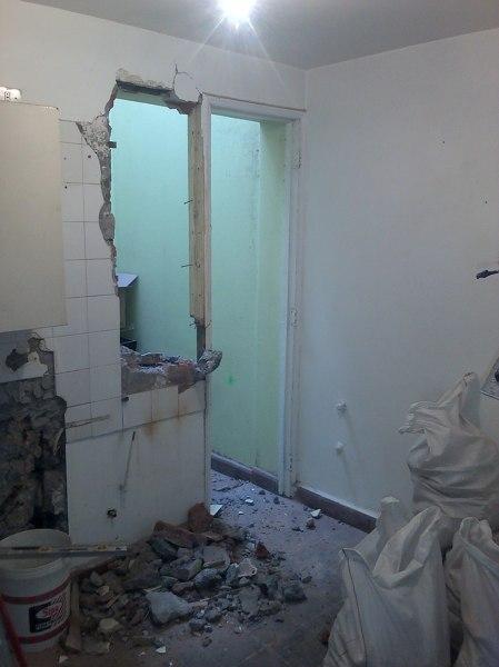 Foto cambio de ubicaci n de puerta de remodela - Cambio de puertas ...