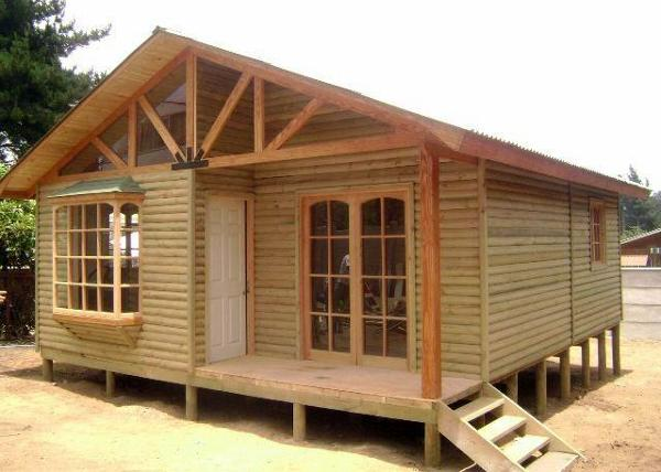 Foto casa basica o full en ambos modelos de for Precios de cabanas prefabricadas